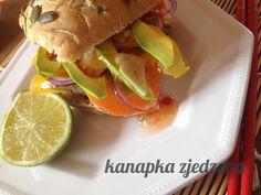 kanapka zjedzona: Burger inspirowany smakami orientu