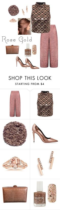 """""""New Years Party Style"""" by parnett ❤ liked on Polyvore featuring Boohoo, Glamorous, Illamasqua, Alexander Wang, ZoÃ« Chicco and Forever 21"""