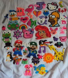 #Perler beads #Colorful