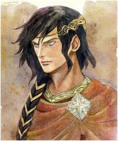 Caranthir the Dark, fourth son of Feanor and quickest to anger by daLomacchi