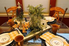 Southern Seazons: French country table
