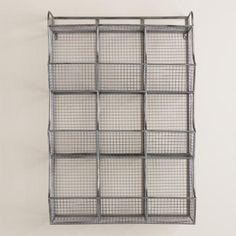 Metal 9-Cubby Thomas Wall Storage | World Market