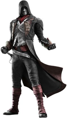 Arno Dorian Assassin's Creed Unity Red and White by AkNiazi on DeviantArt