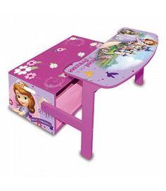 VENTA Banco 3 en 1 Princesa Sofía de Disney muebles. Mueble de madera. ARDWD8325