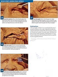 Wood Spirit Carving - Wood Carving