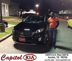 https://flic.kr/p/BqZqbY | Congratulations Olabode on your #Kia #Sorento from Kaleb Khan at Capitol Kia! | deliverymaxx.com/DealerReviews.aspx?DealerCode=RXQC