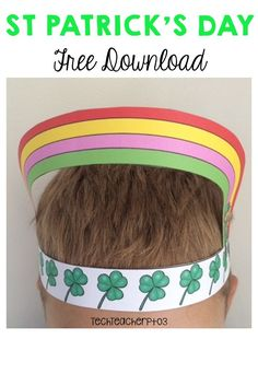 Have fun this Saint Patrick's Day by bringing this celebration into your classroom with these silly free printable hats. Inside this free download, you will find 3 x full-colour printable hats and 3 x black and white hats ready to print. All are very easy to put together, your students are going to love decorating and wearing these hats with pride. A fantastic way to finish your unit on Ireland or celebrations around the world. #stpatricksday #freedownload #freebie #teaching #ireland #teacher Kindergarten Reading, Preschool Kindergarten, Classroom Activities, Primary School Curriculum, Black And White Hats, Celebration Around The World, St Patrick's Day Decorations, St Patrick's Day Crafts, Elementary Art