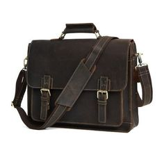 Cheap leather briefcases men, Buy Quality leather briefcase directly from China leather business briefcase Suppliers: Men's Genuine Leather Briefcases Men Vintage Crazy Horse Leather Business Crossbody Bags Large Handbags Messenger Bag Travel Bag Vintage Leather Messenger Bag, Messenger Bag Men, Leather Crossbody Bag, Crossbody Bags, Briefcase For Men, Large Handbags, Large Bags, Leather Men, Leather Bags