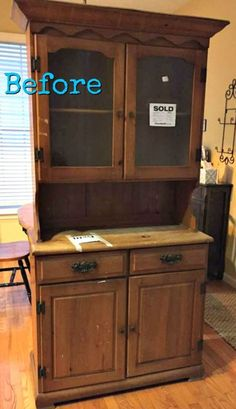 Le plus récent Totalement gratuit armoire repurpose china cabinet Style Refurbished Furniture, Repurposed Furniture, Furniture Makeover, Bookshelf Makeover Diy, Repurposed China Cabinet, Farmhouse China Cabinet, Chalk Paint Furniture, Furniture Projects, Diy Furniture