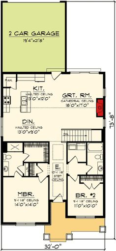 Architecture Design House Plans plan 52209wm: two bedroom starter home plan | bedrooms