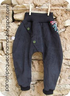pantalones bombachos - Para mi peque con amor