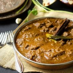 Rogan Josh. A hearty, comforting and beautifully spiced lamb curry that brings warmth to the soul and the spirit of India right to your plate.