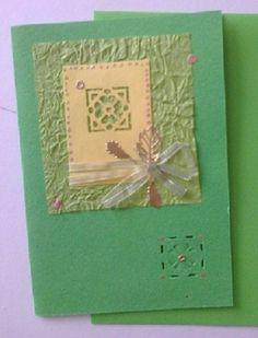 V zeleném navzdory zimě Ručně vyrobené přáníčko vhodné pro každou příležitost. Obálka v ceně :-). Při nákupu nad 500,00 Kč poštovné zdarma!