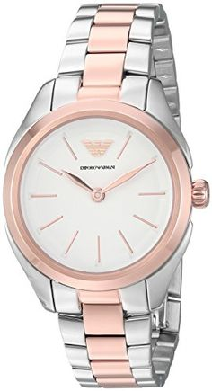 aa5d7c30ef01 Emporio Armani Women s  Valeria  Quartz Stainless Steel Casual Watch