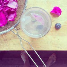 Rose lemoniade, yummy!