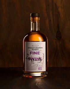 lovely-package-fine-swine-whiskey-designed by The MARK Studio Whisky, Whiskey Label, Whiskey Brands, Bourbon Whiskey, Liquor Drinks, Wine And Liquor, Liquor Bottles, Alcohol Bottles, Beverage
