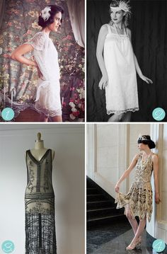 How to dress up 20s style
