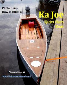 KaJoe Quiet Bayou Boat Plans