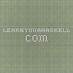 learnyouahaskell.com