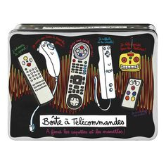 Boîte à télécommandes en fer derrière la porte, les boîtes de rangement