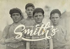 Smith's, Logotype for a T-shirt BrandAlex Ramon Mas Studio