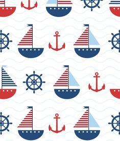 Anchor Wallpaper, Print Wallpaper, Pattern Wallpaper, Iphone Wallpaper, Micro Creche, Nautical Background, Sailor Baby Showers, Kids Room Wallpaper, Simple Illustration
