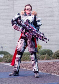 Destiny titan cosplay by pheelgoodcosplay