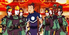 New Member in the Kyoshi Warriors | Sokka & Ty Lee | The Last Airbender | Avatar | (gif)