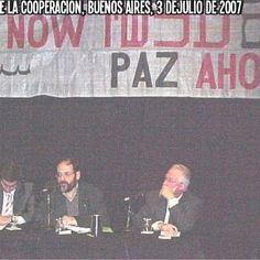 Asamblea por la paz. Buenos Aires,  3 de julio de 2007.