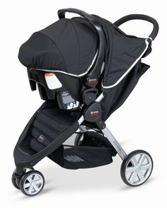Britax B-Agile Stroller and B-Safe Infant Car Seat Travel System