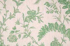 PK Lifestyles Solomons Seal Printed Linen Blend Drapery Fabric in Laurel $11.95 per yard