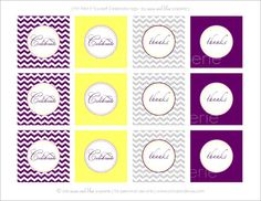 {Free Printable} Exclusive Designs for I Share Everything