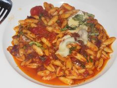 DE NOVO EUROPEAN PUB, MONTCLAIR: Cavatelli puttanesca with anchovies, capers, olives, hot peppers and tomato.sauce.http://njmonthly.com/blogs/tablehopwithRosie/2014/12/24/restaurant-news.html#read_more
