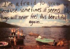 Never gonna grow up<3