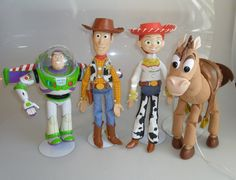 Would want Woody first, then Buzz, then Bullseye, then Jessie  DISNEY TOY STORY BUZZ WOODY BULLSEYE JESSIE ELECTRONIC TALKING TOY DOLLS FIGURES - PULL STRING