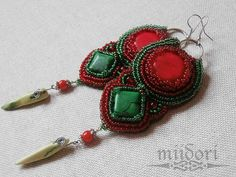 miidori Beadwork, Charmed, Bracelets, Jewelry, Fashion, Moda, Jewlery, Jewerly, Fashion Styles