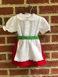 Irish Jig, Unicorn Gifts, Red Skirts, Gorgeous Fabrics, Baby Size, Dance Outfits, Baby Dress, Smocking, Cute Babies
