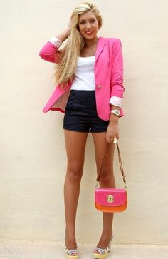 pink jacket grat outfit