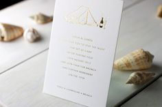 Modern Chevron Wedding Invitations by Meticulous Ink via Oh So Beautiful Paper (2)