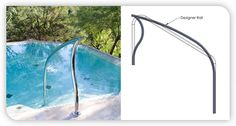 Best Pool Rails Swimming Pool Ladders Pool Handrails 640 x 480