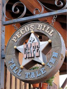 Pecos Bill's. Cheese sauce and fries!  Walt Disney World.