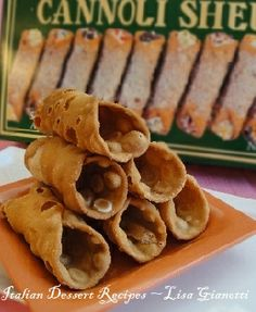 Cannoli Shells - It all starts here!