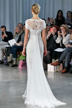 Monique Lhuillier wedding dress, Fall 2013. I love this!