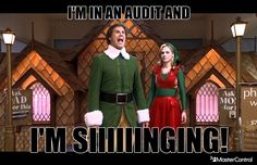 I'm in an audit... and I'm SIIIIINGING!