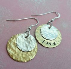 Hey, I found this really awesome Etsy listing at https://www.etsy.com/listing/105483392/personalized-hand-stamped-earring