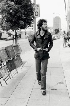 Bruce Springsteen - Walking / by Terry O'Neill