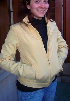 Giubbotto Primaverile Giallo Tenue / Yellow Jacket for spring