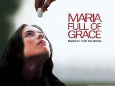 María llena eres de gracia. Cine Colombiano, Colombia. Droga, mulas