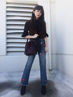 Camille Nichelini - Hieleven Bucketbag - LA Casual | LOOKBOOK