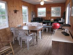 A small, off-grid home on the Patuxent River in Southern, Maryland. Dining Table, Furniture, Home Decor, Decoration Home, Room Decor, Dinner Table, Home Furnishings, Dining Room Table, Home Interior Design
